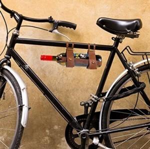Weinflaschenhalter fürs Fahrrad!