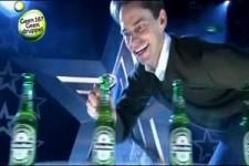 Heineken Bier - Talentierter Mann
