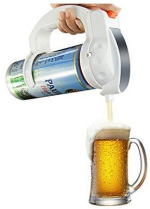 Ultraschall-Bier-Ausgießer!