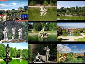 Boboli Gardens - Boboli-Gärten in Florenz - Italien