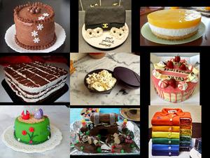 Et voici le dessert - Und hier ist das Dessert