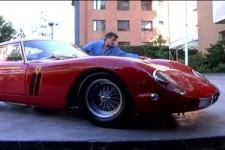 Ich putze meinen Ferrari