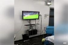 Fußball und OP