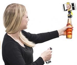 Smartphone-Halter für Flaschen!