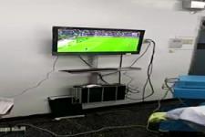 Fußball gucken während einer OP