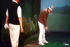 Verletzt beim Golf