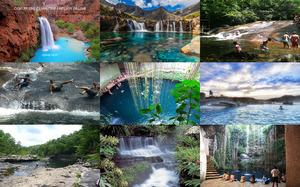 Bellas piscinas naturales del Mundo -Schöne natürliche Pools