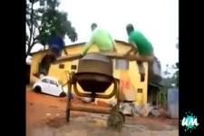 Baustellen- Pannen