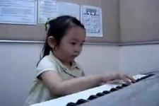 Talentiertes Mädchen