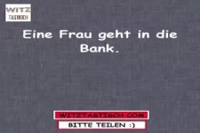 In der Bank