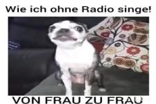 Wie ich ohne Radio singe