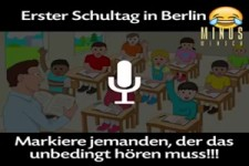 Schultag in Berlin