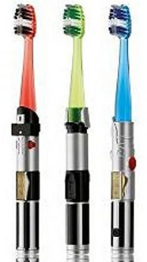 Star Wars Lichtschwert Zahnbürste!