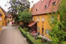 Die Fuggerei in Augsburg