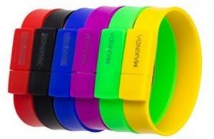 USB-Stick als Armband!