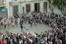 Straßenmusik auf höchstem Niveau - Flashmob in Wien
