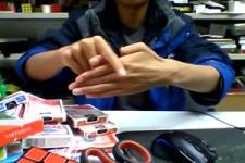 Irrer Trick mit Finger