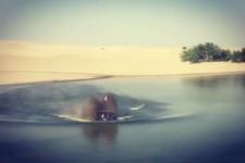 Übers Wasser fahren
