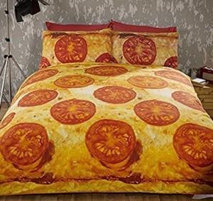 Pizza-Bettwäsche!