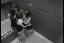 Kamera im Aufzug
