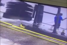 Der Blödmann in der Waschstrasse