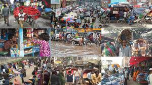 Bangladesch Dhaka.Erika