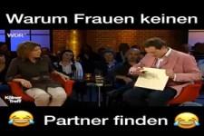 warum Frauen keinen Partner finden