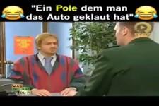 Einem Polen wird das Auto geklaut