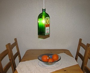 Original Jägermeister Flaschenlampe!