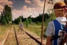 Blinde Bogenschützerin und die Klingel