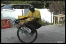 Kunstradfahren in Afrika