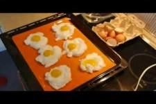 Wolken Eier fuers Fruehstueck