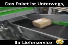 Paket ist unterwegs
