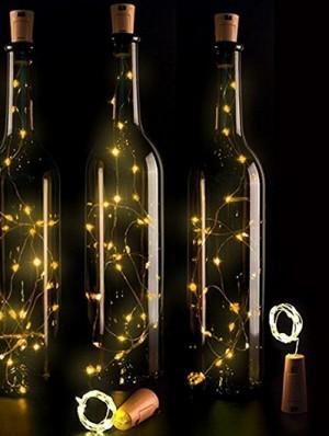 LED-Flaschen-Lichterketten!