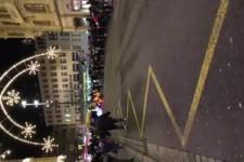 Weihnachtsmann-Konvoi