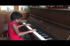 Indian Kid Playing Piano Like a Master.