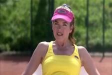 Aufschläge üben beim Tennis