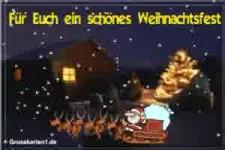 Euch ein schönes Weihnachtsfest