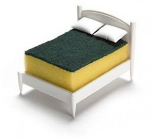 Design Bett für Schwamm!