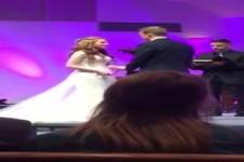 Umwerfende Hochzeit