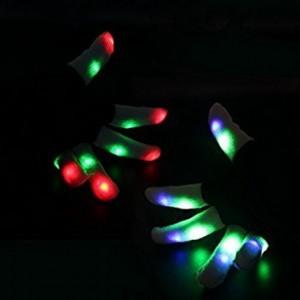 Leuchtende Fingerhandschuhe!
