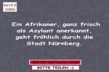 Ein Afrikaner...