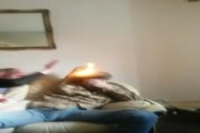 Die Matte brennt