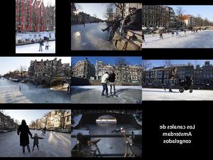 Amsterdam 04 Winter Los canales de Amsterdam