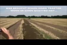 Audi quattro vs Traktor