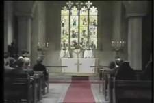 Streich in der Kirche