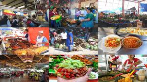 Mexico Strassen Gastronomie