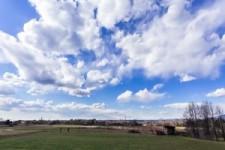 Super Zeitraffer-Video von Wolken