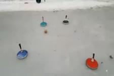 Neue Eisstockschießvariante