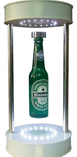Die schwebende Bierflasche!